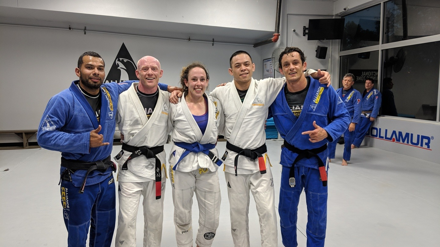 lose weight with Houston Brazilian Jiu-Jitsu